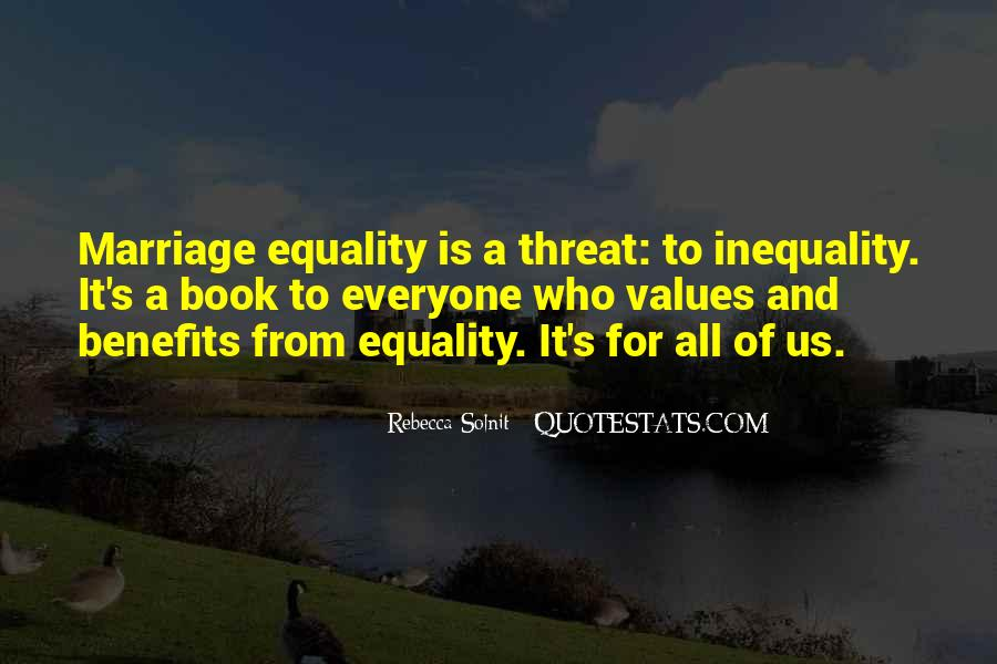 Equality For All Quotes #167579
