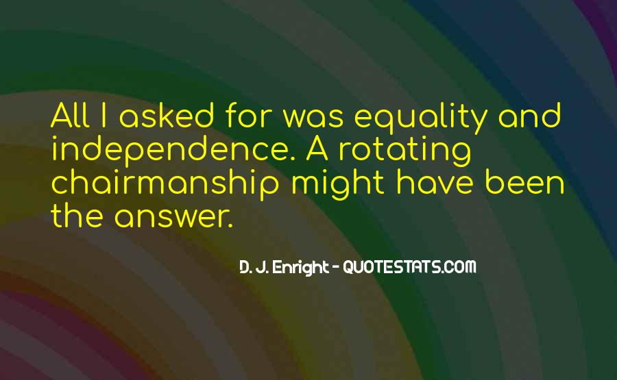 Equality For All Quotes #183087
