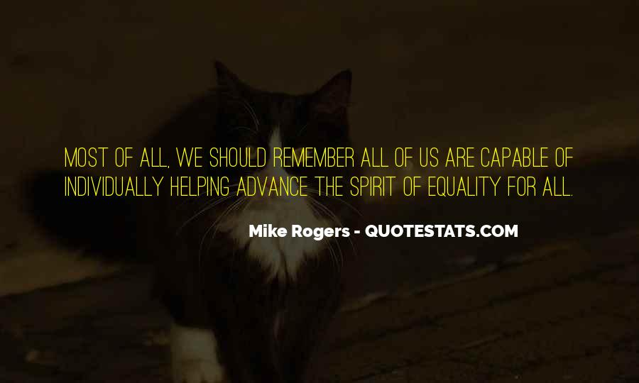 Equality For All Quotes #40665
