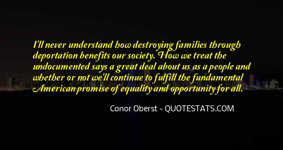 Equality For All Quotes #549859
