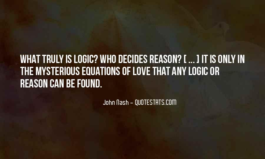 Equations Of Life Quotes #878577