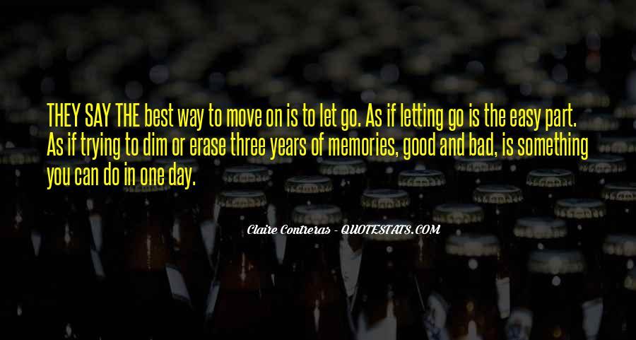 Erase All Memories Quotes #1103063