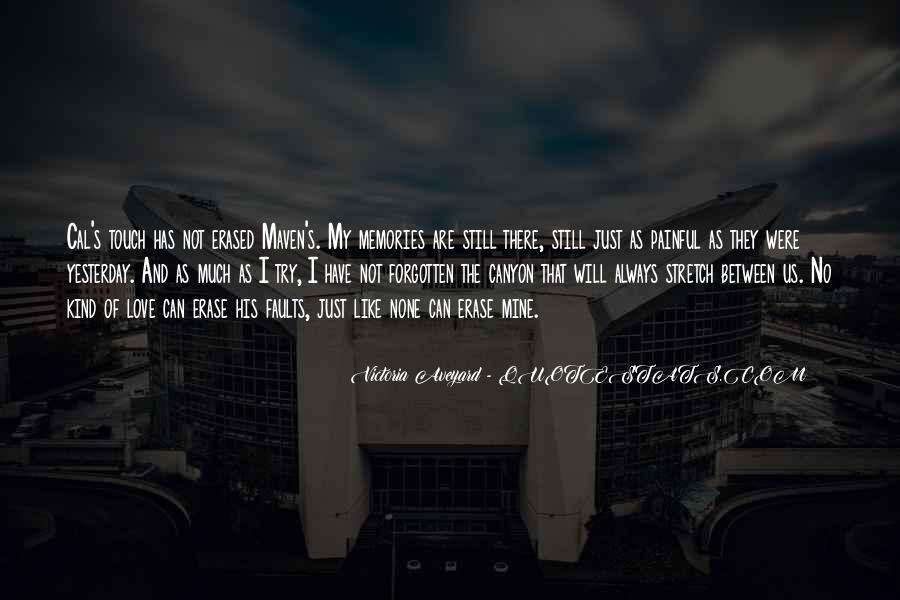 Erase All Memories Quotes #1453238
