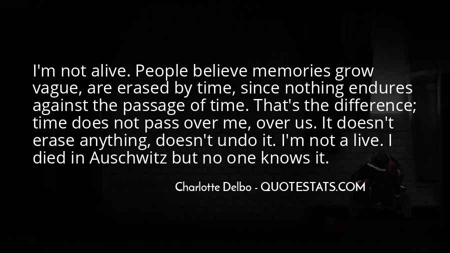 Erase All Memories Quotes #332074