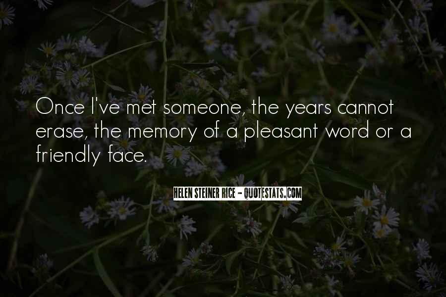 Erase All Memories Quotes #73362