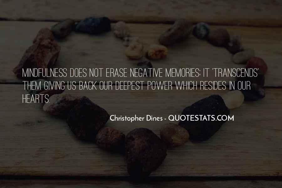 Erase All Memories Quotes #77448