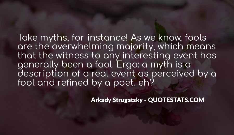 Ergo Quotes #350514