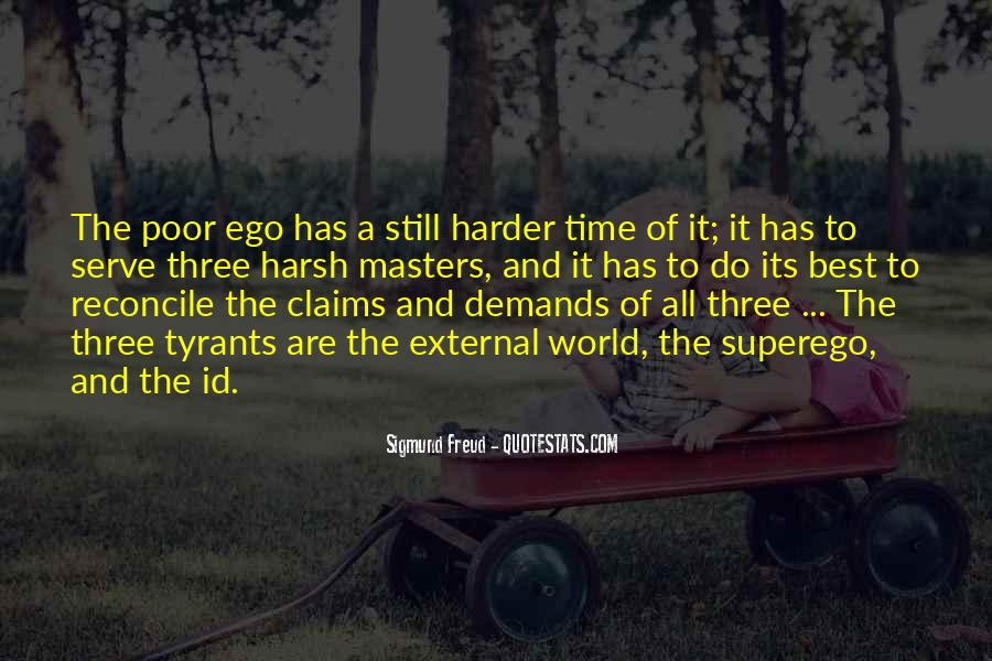 Quotes About Id Ego And Superego #1361690