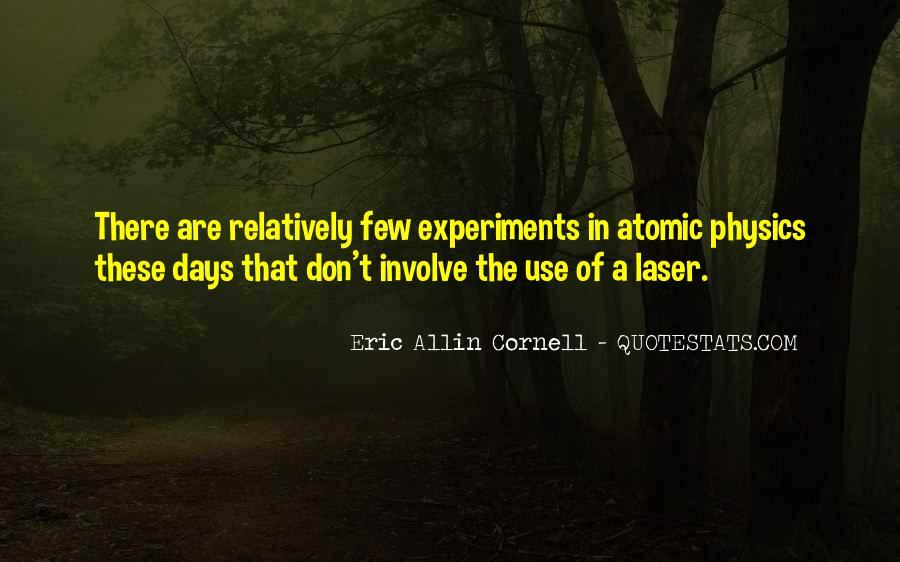 Eric Cornell Quotes #127039