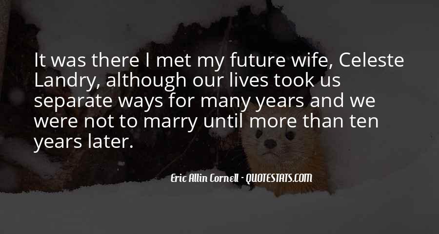Eric Cornell Quotes #1355298