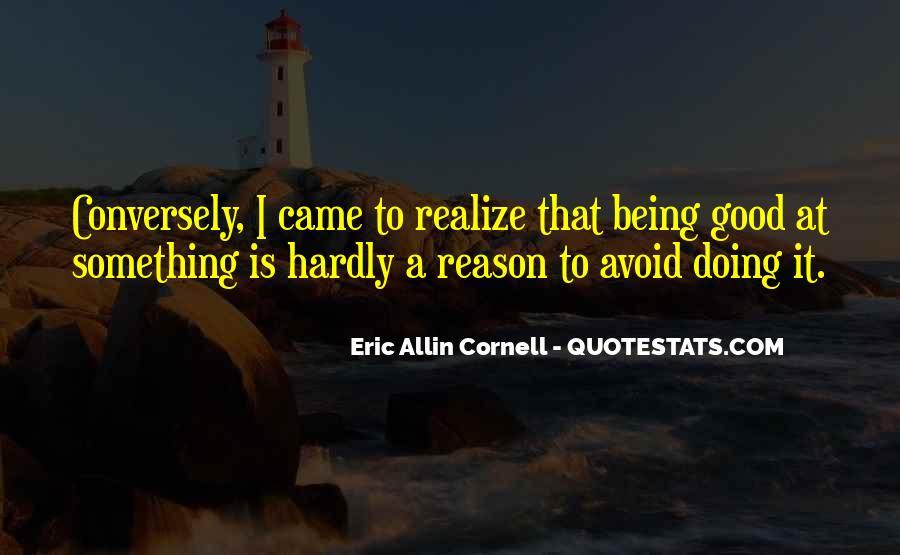 Eric Cornell Quotes #320635