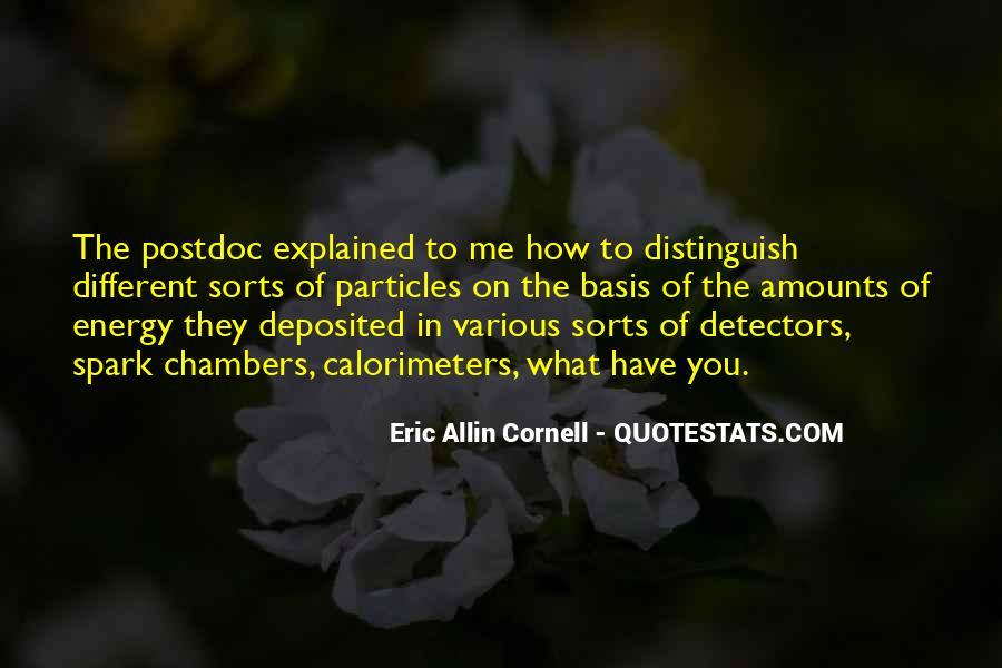 Eric Cornell Quotes #701475