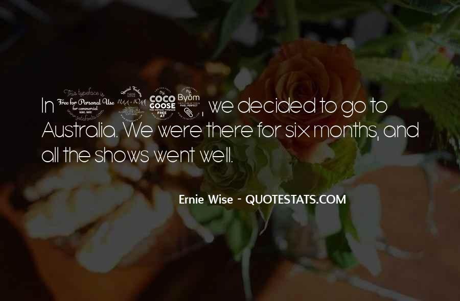 Ernie Quotes #275362