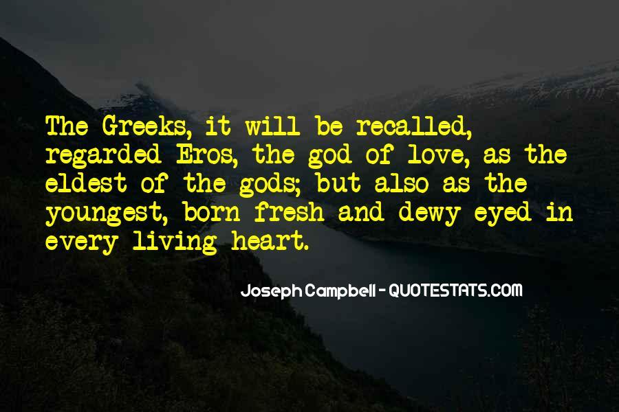 Eros Greek God Quotes #1132800
