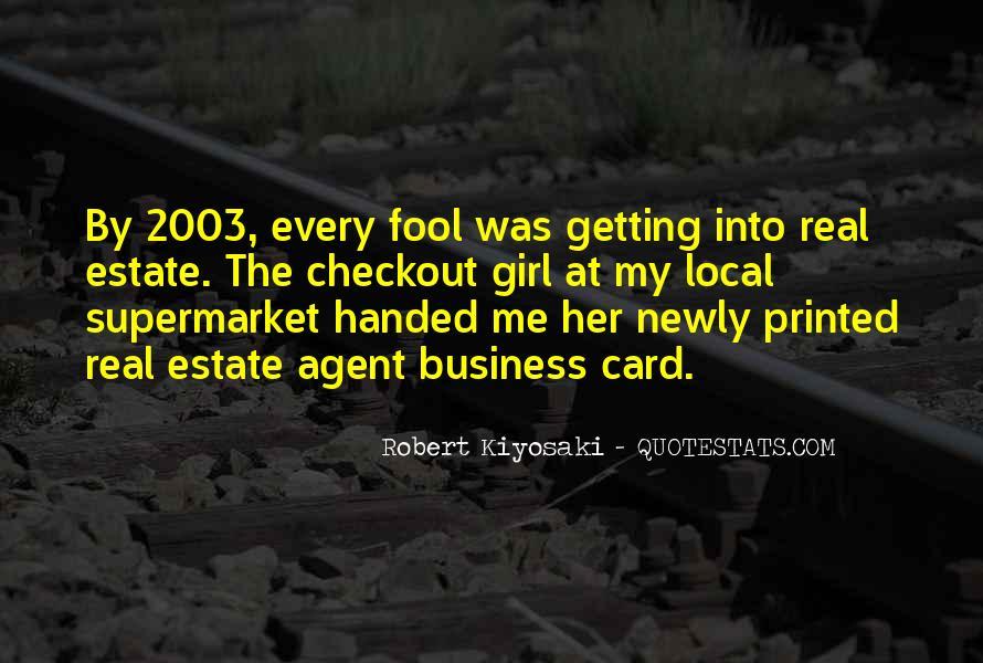 Estate Agent Quotes #1733567