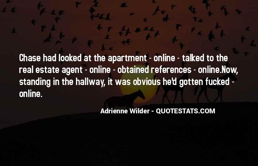 Estate Agent Quotes #485882