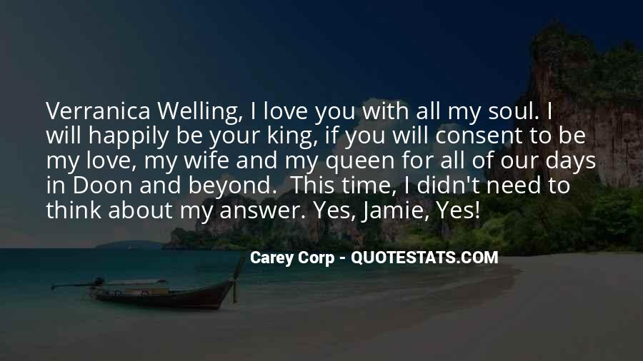 Quotes About I Love My Wife #157729
