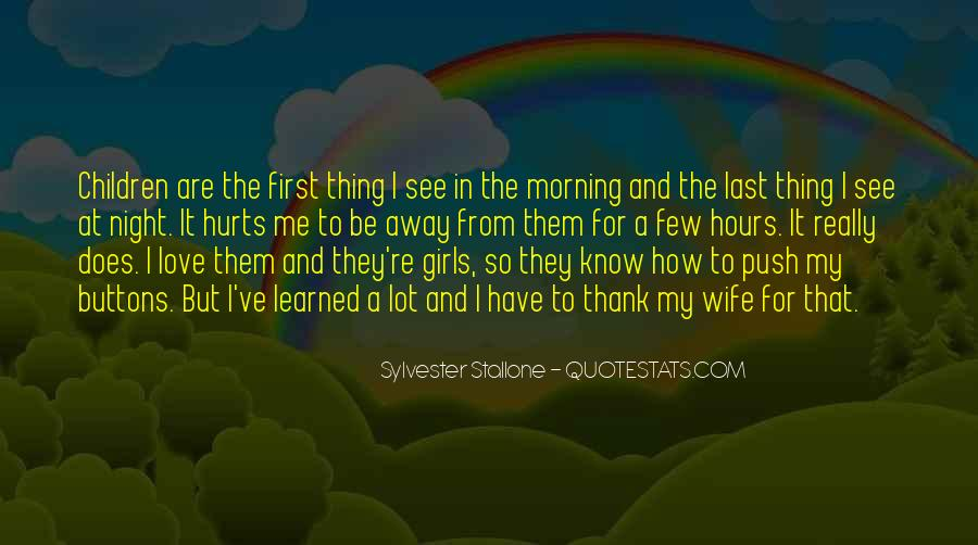Quotes About I Love My Wife #196486