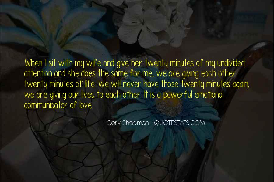 Quotes About I Love My Wife #543420