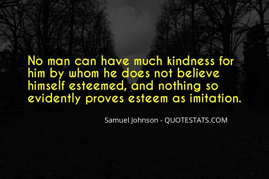 Esteemed Quotes #237754