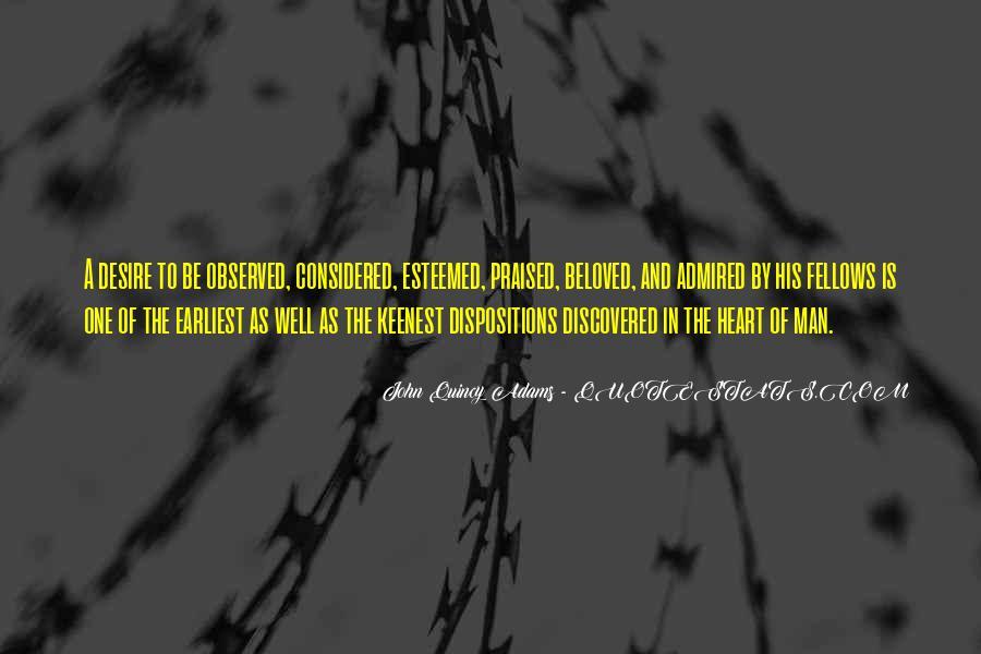 Esteemed Quotes #359626