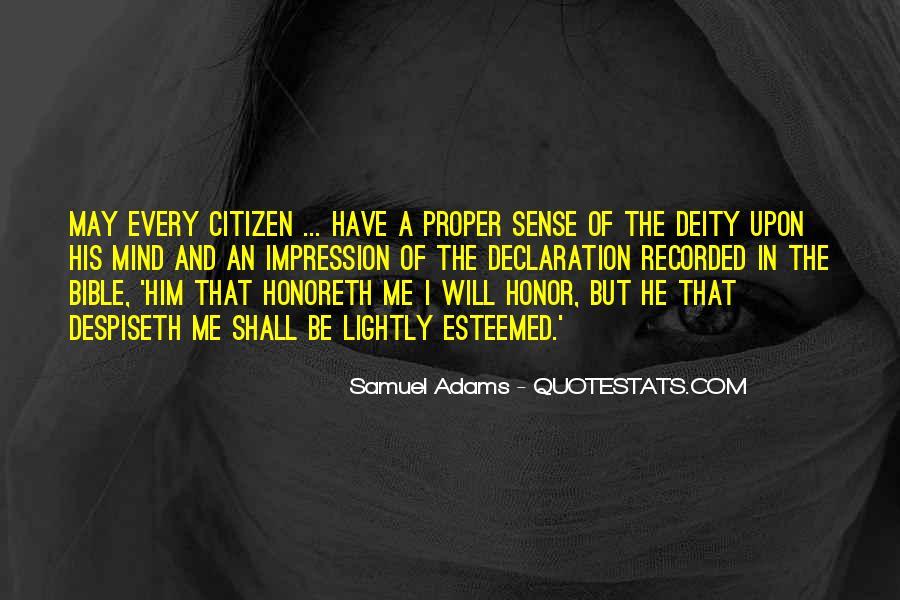Esteemed Quotes #394658