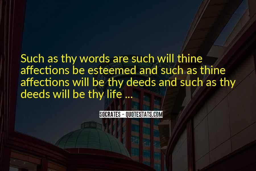 Esteemed Quotes #707268