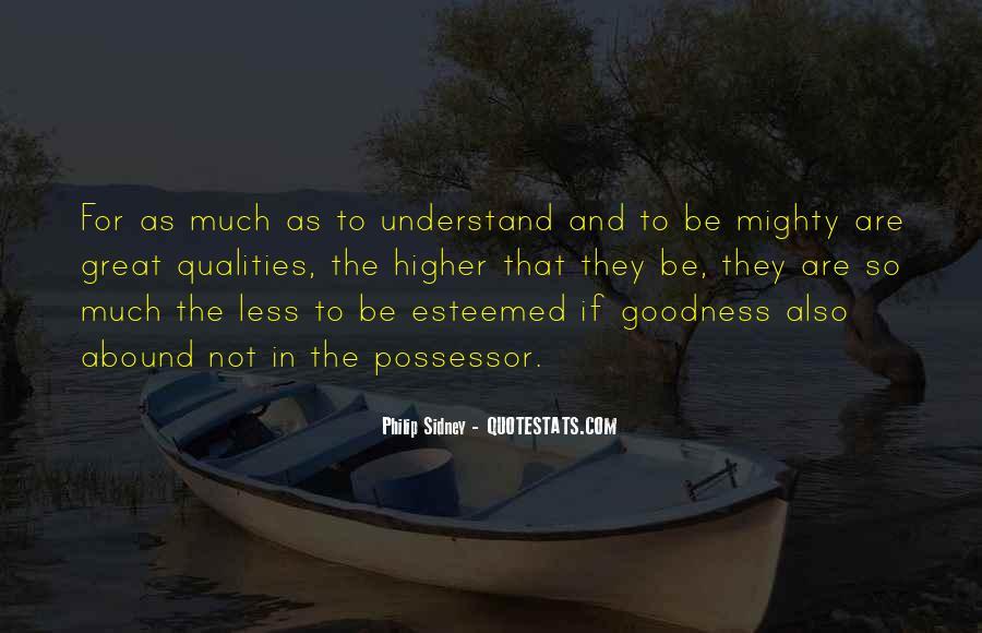 Esteemed Quotes #731314