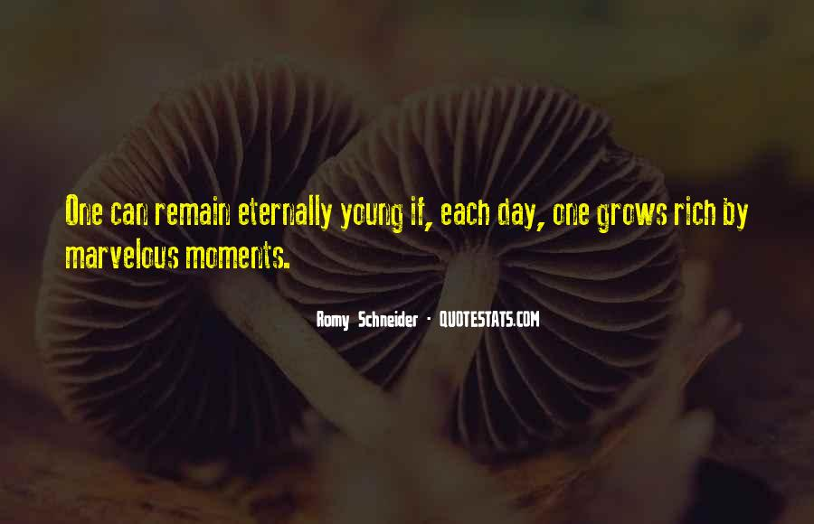 Eternally Young Quotes #1541644
