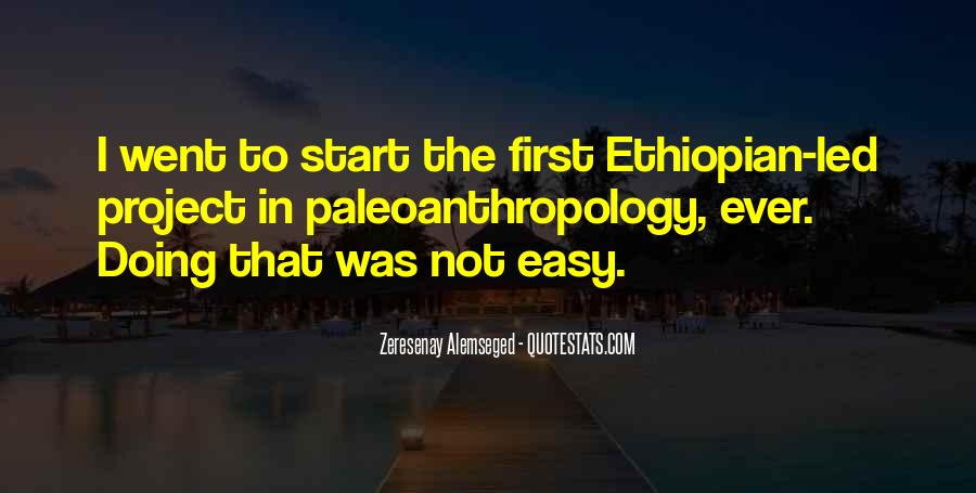 Ethiopian Quotes #103377