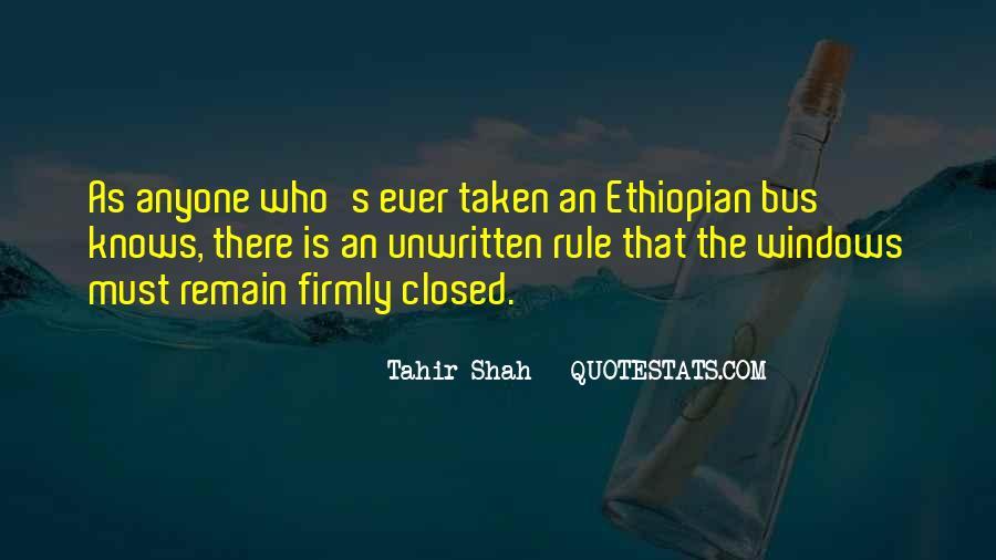 Ethiopian Quotes #1165139