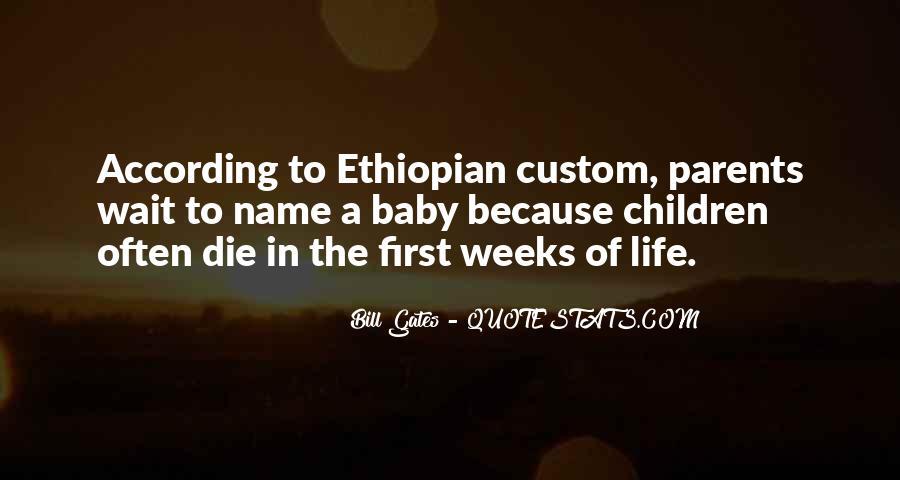 Ethiopian Quotes #1189602