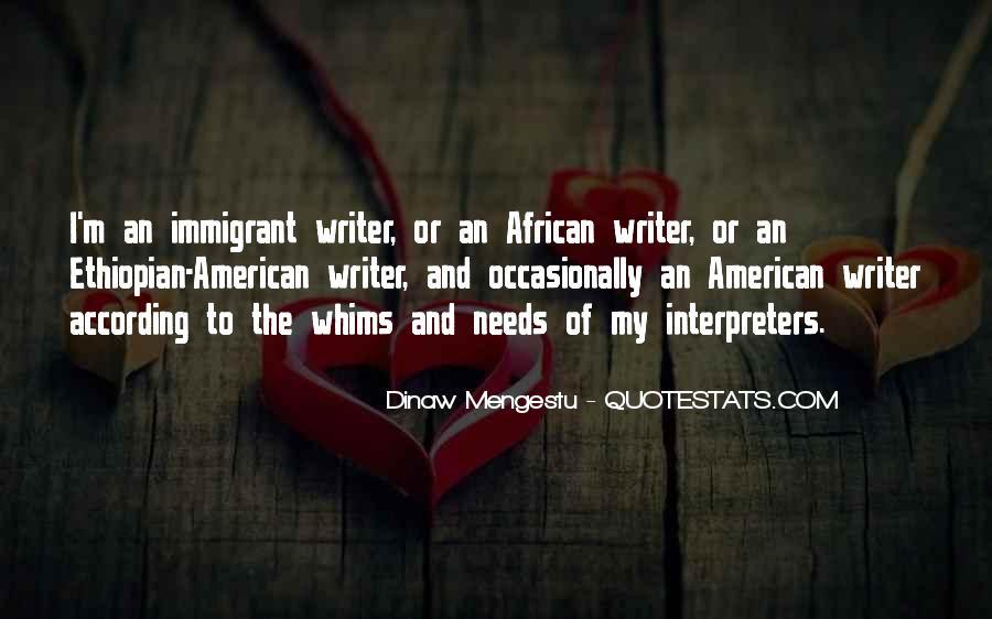Ethiopian Quotes #1269596