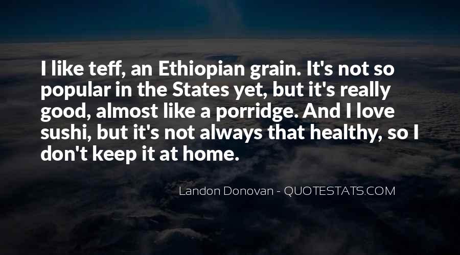Ethiopian Quotes #1748364