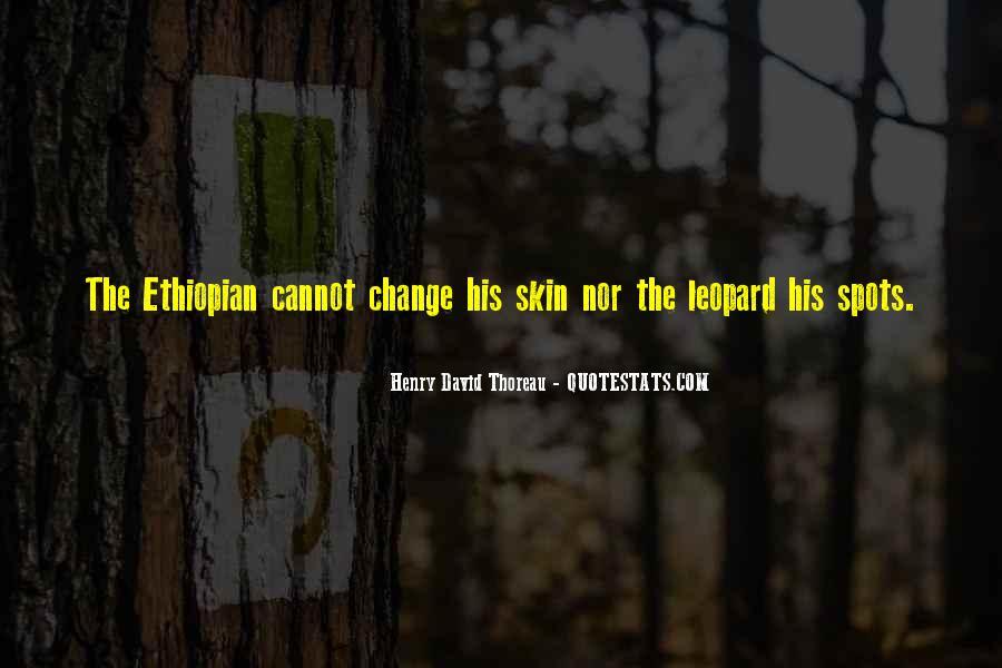 Ethiopian Quotes #24281