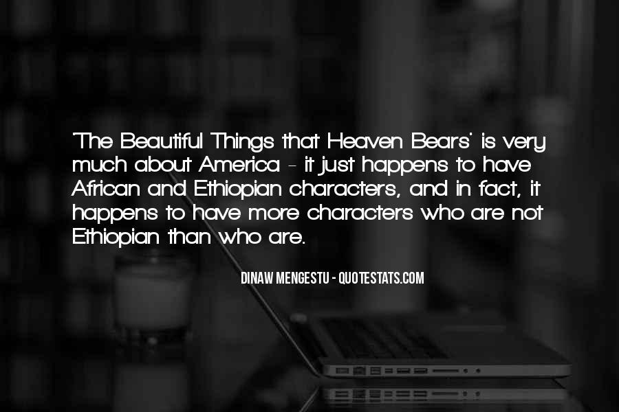 Ethiopian Quotes #402440