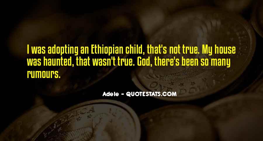 Ethiopian Quotes #556001