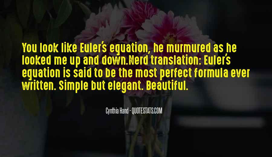 Euler's Quotes #1593846