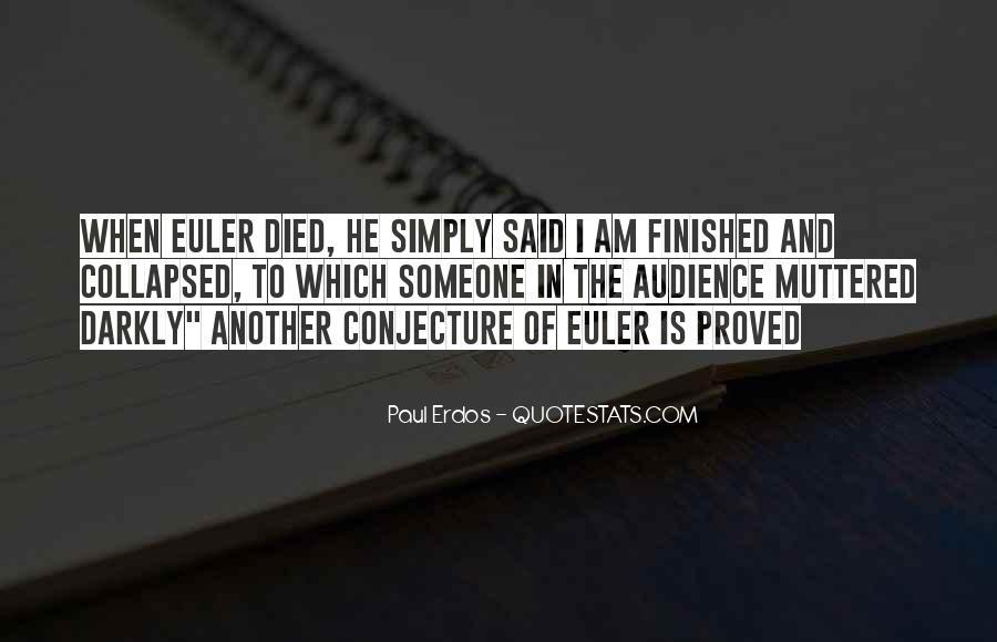 Euler's Quotes #885549