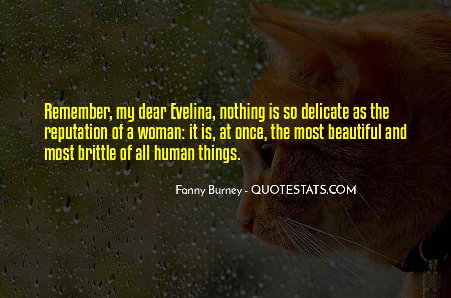 Evelina Burney Quotes #1466939