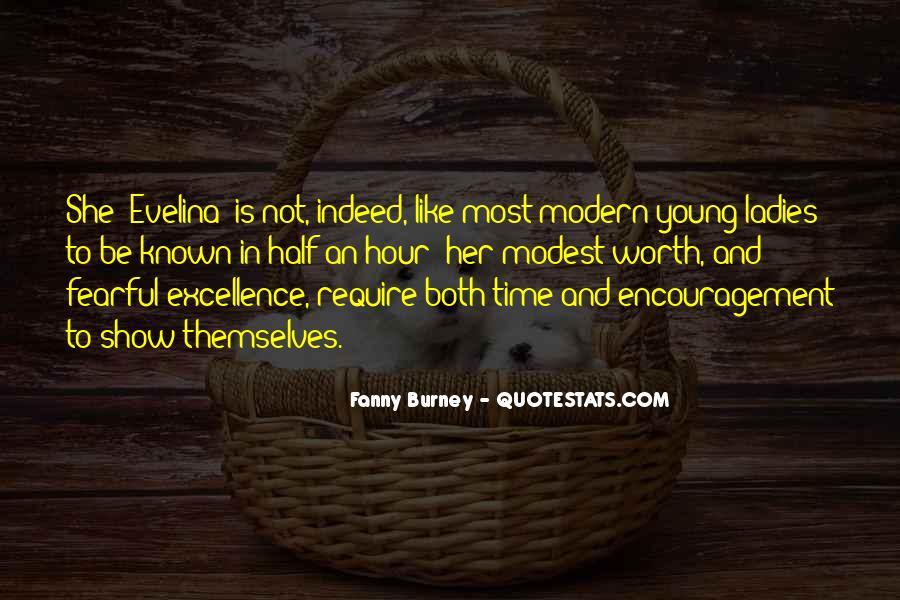 Evelina Burney Quotes #1798799