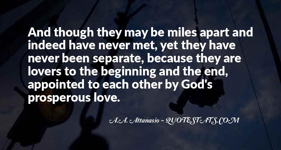 Even If We're Miles Apart Quotes #747516