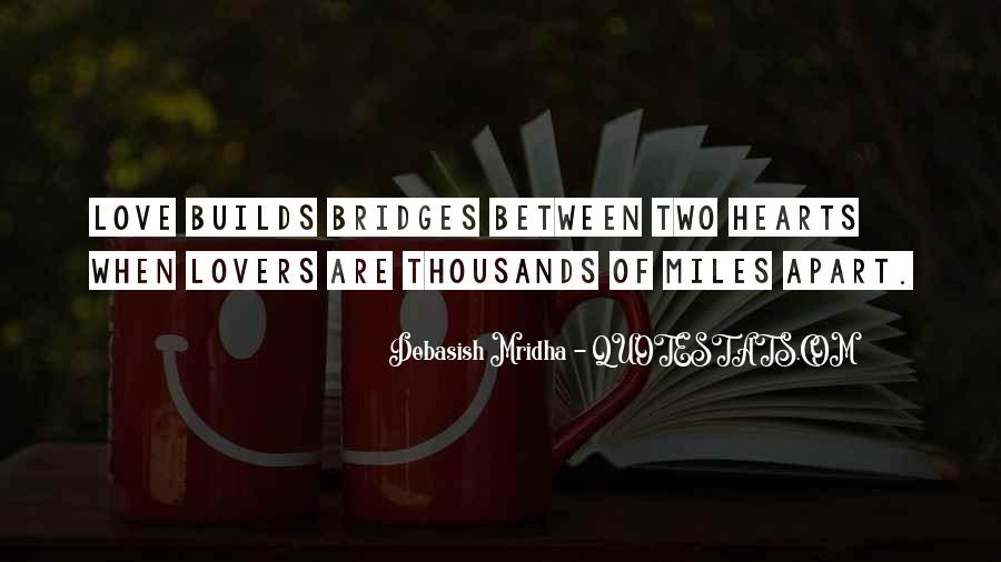 Even If We're Miles Apart Quotes #983810