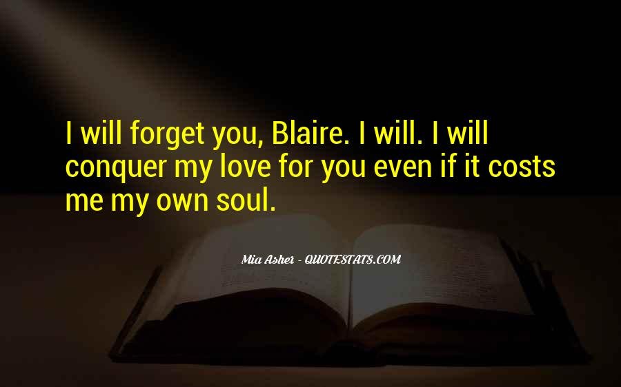 Even If You Forget Me Quotes #134875