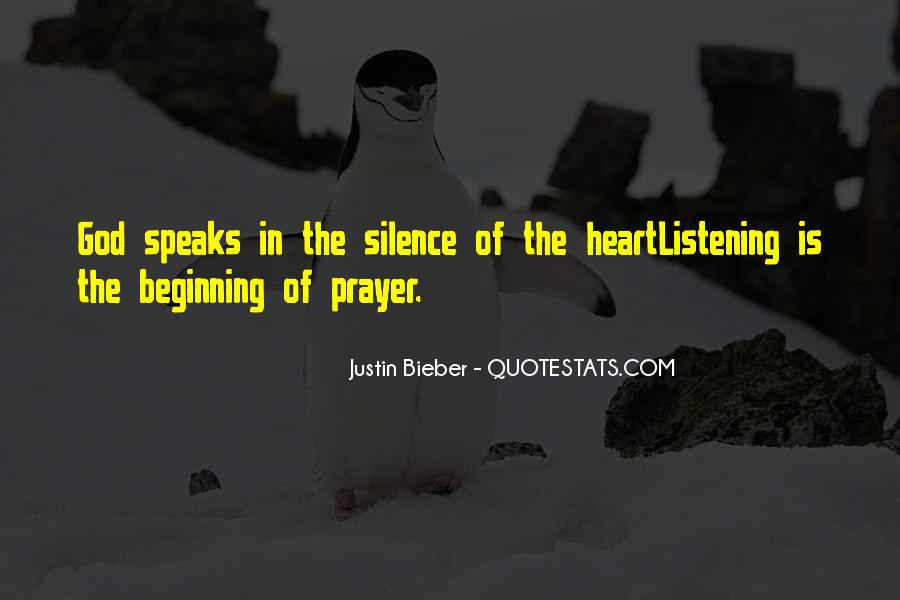 Even Silence Speaks Quotes #418798
