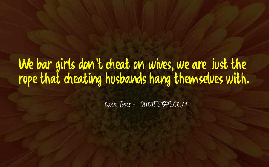 Quotes About Husbands Cheating #1597009