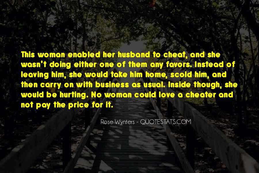 Quotes About Husbands Cheating #1620641