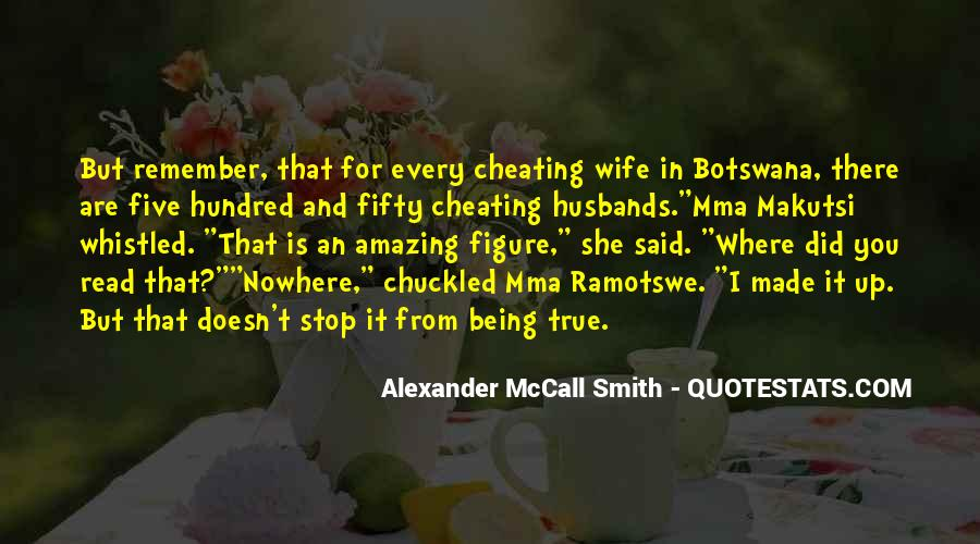 Quotes About Husbands Cheating #459475
