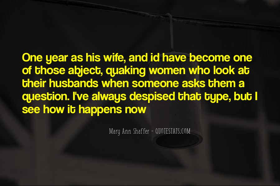 Quotes About Husbands And Wife #1433018