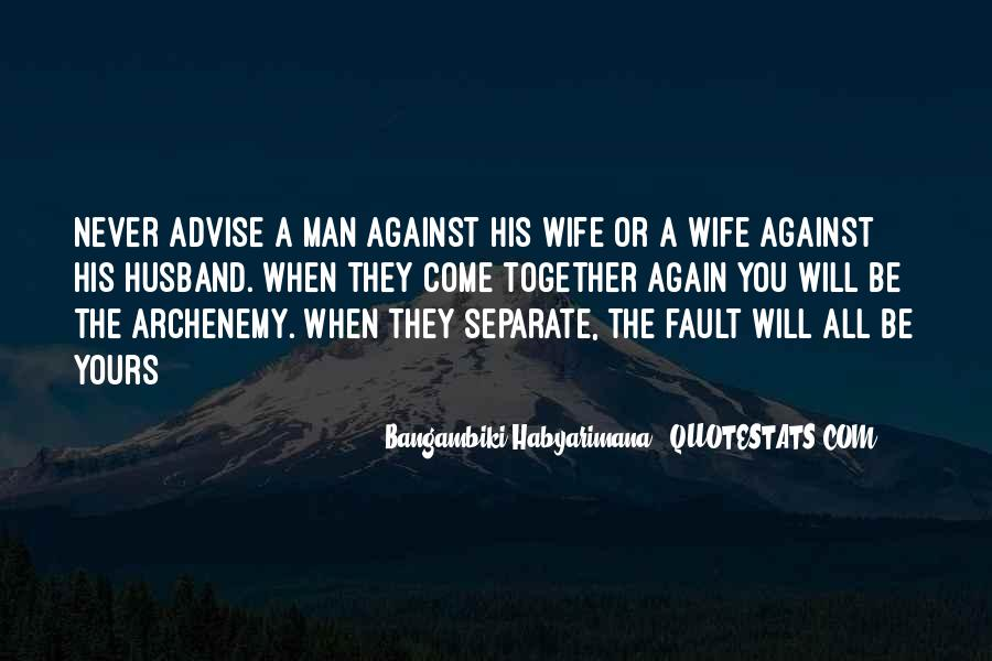 Quotes About Husbands And Wife #144307